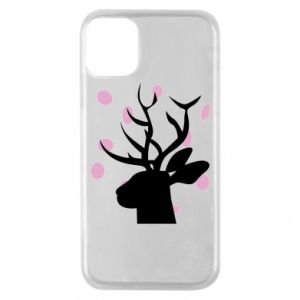 Etui na iPhone 11 Pro Deer in hearts
