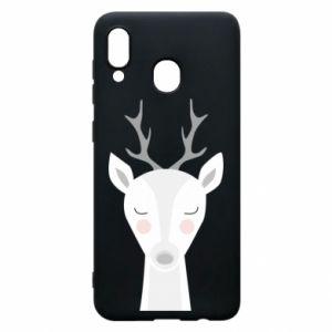 Samsung A20 Case Deer