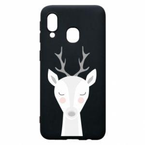 Samsung A40 Case Deer