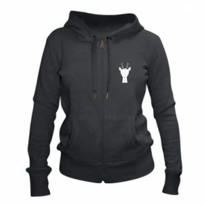 Damska bluza na zamek Deer
