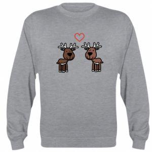 Sweatshirt Deer in love