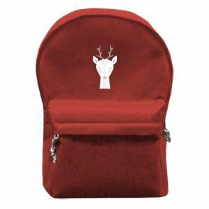 Backpack with front pocket Deer