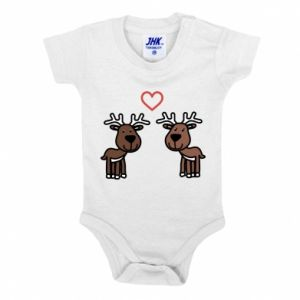 Baby bodysuit Deer in love