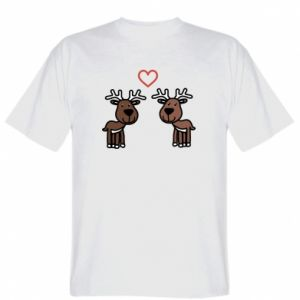 T-shirt Deer in love