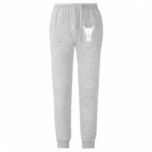 Męskie spodnie lekkie Deer