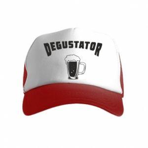 Czapka trucker dziecięca Degustator piwa