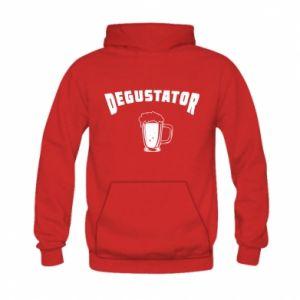 Bluza z kapturem dziecięca Degustator piwa