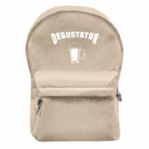 Backpack with front pocket Beer taster