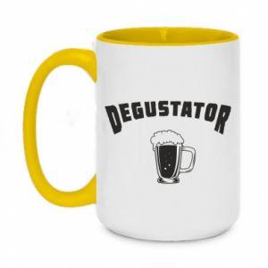 Two-toned mug 450ml Beer taster