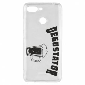 Phone case for Xiaomi Redmi 6 Beer taster