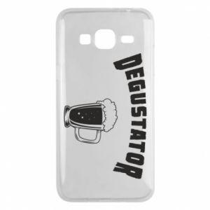 Phone case for Samsung J3 2016 Beer taster