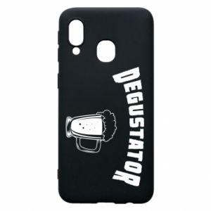 Phone case for Samsung A40 Beer taster