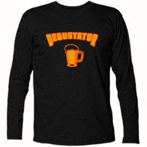 Koszulka z długim rękawem Degustator