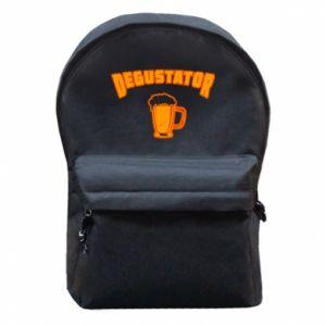 Plecak z przednią kieszenią Degustator