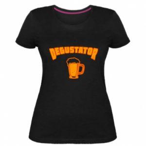 Damska premium koszulka Degustator
