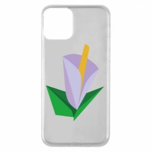 Etui na iPhone 11 Delicate lilac flower abstraction
