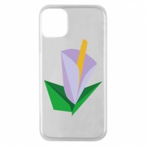 Etui na iPhone 11 Pro Delicate lilac flower abstraction