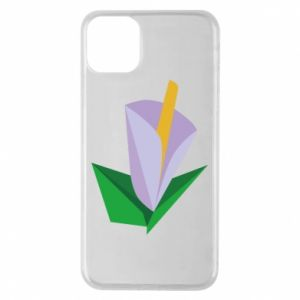 Etui na iPhone 11 Pro Max Delicate lilac flower abstraction