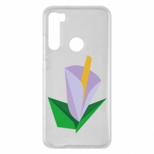 Etui na Xiaomi Redmi Note 8 Delicate lilac flower abstraction