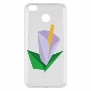 Etui na Xiaomi Redmi 4X Delicate lilac flower abstraction