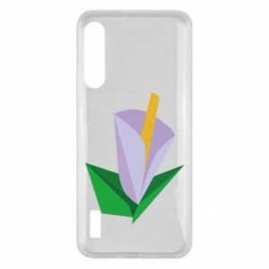 Etui na Xiaomi Mi A3 Delicate lilac flower abstraction