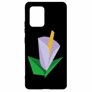Etui na Samsung S10 Lite Delicate lilac flower abstraction