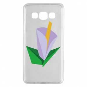 Etui na Samsung A3 2015 Delicate lilac flower abstraction