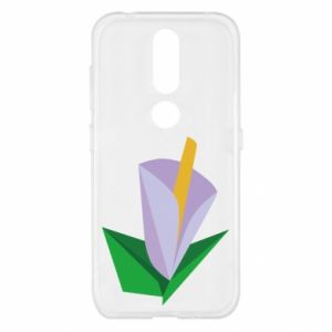 Etui na Nokia 4.2 Delicate lilac flower abstraction