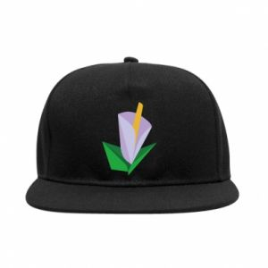 Snapback Delicate lilac flower abstraction
