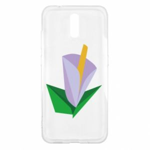 Etui na Nokia 2.3 Delicate lilac flower abstraction