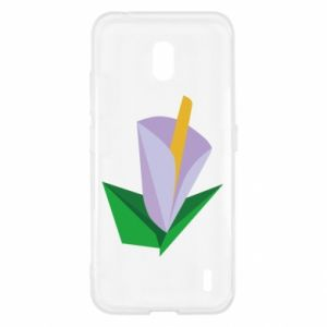 Etui na Nokia 2.2 Delicate lilac flower abstraction