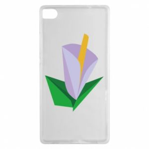 Etui na Huawei P8 Delicate lilac flower abstraction