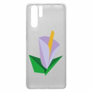 Etui na Huawei P30 Pro Delicate lilac flower abstraction