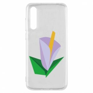 Etui na Huawei P20 Pro Delicate lilac flower abstraction