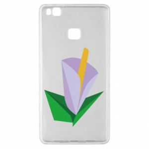 Etui na Huawei P9 Lite Delicate lilac flower abstraction