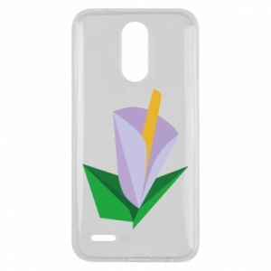 Etui na Lg K10 2017 Delicate lilac flower abstraction