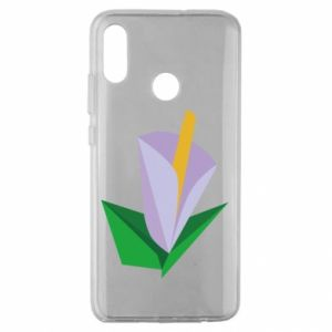 Etui na Huawei Honor 10 Lite Delicate lilac flower abstraction