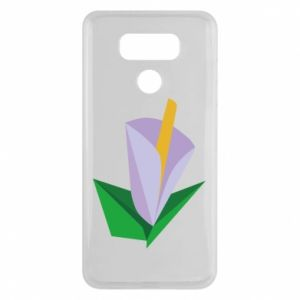 Etui na LG G6 Delicate lilac flower abstraction