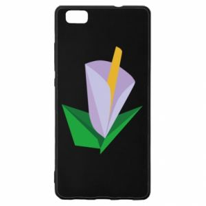 Etui na Huawei P 8 Lite Delicate lilac flower abstraction