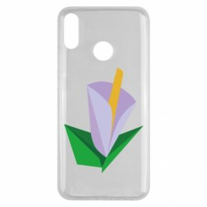 Etui na Huawei Y9 2019 Delicate lilac flower abstraction