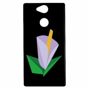 Etui na Sony Xperia XA2 Delicate lilac flower abstraction
