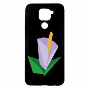 Etui na Xiaomi Redmi Note 9/Redmi 10X Delicate lilac flower abstraction