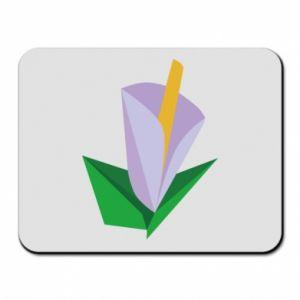Podkładka pod mysz Delicate lilac flower abstraction