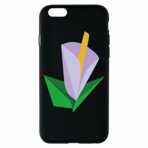 Etui na iPhone 6/6S Delicate lilac flower abstraction