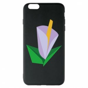 Etui na iPhone 6 Plus/6S Plus Delicate lilac flower abstraction