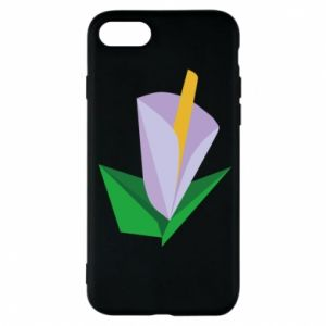 Etui na iPhone 7 Delicate lilac flower abstraction