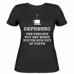Women's t-shirt Depresso
