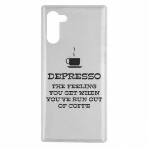 Samsung Note 10 Case Depresso