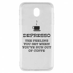 Samsung J7 2017 Case Depresso