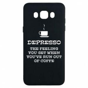 Samsung J7 2016 Case Depresso